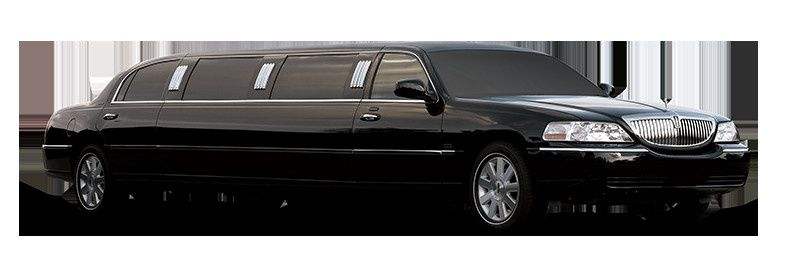 lincoln towncar limo blk