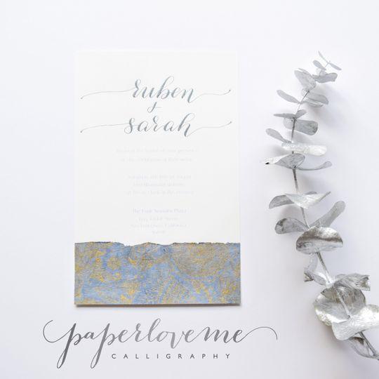 Paperloveme Calligraphy