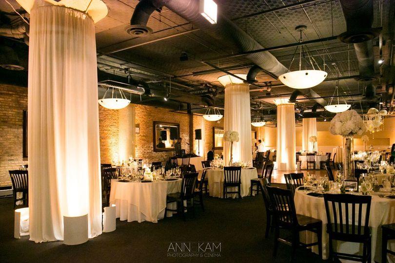 River roast venue chicago il weddingwire for Room wraps