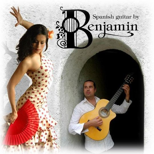 Performances available as Solo Guitar, or with a Flamenco Dancer