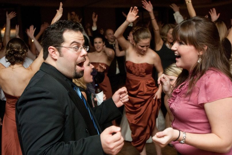 Everyone has a great time at a Lisa Rene wedding.  The dance floor is usually packed from start to...