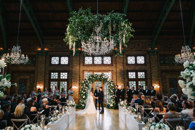 Cafe Brauer Wedding Ceremony