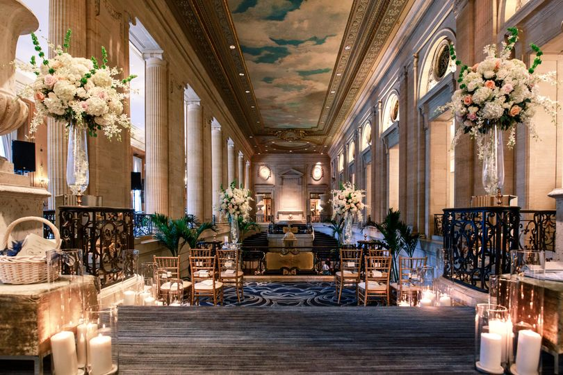 Historic Hotel Ceremony