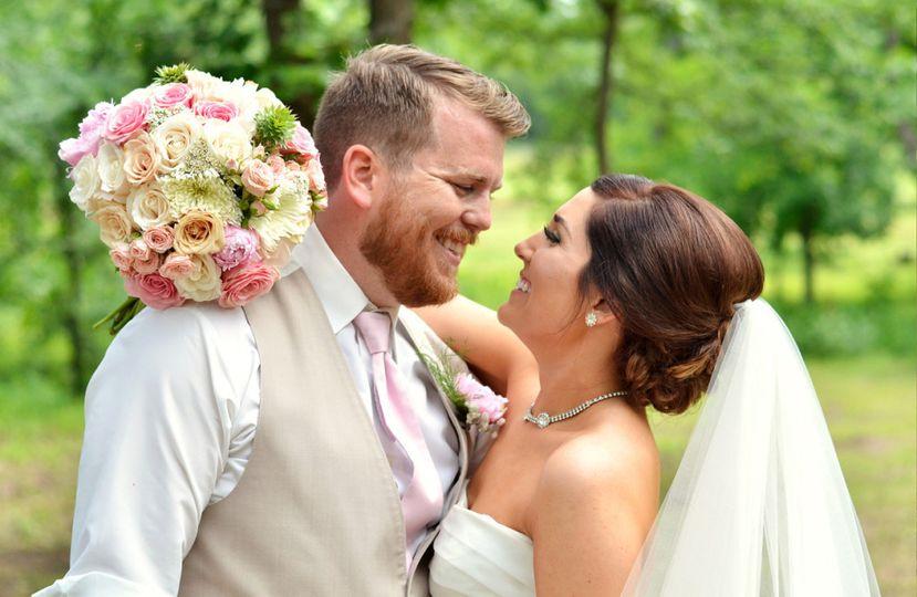 bride groom laugh springfield missouri wedding pho