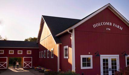 Red Barn at Holcomb Farm by David Alan