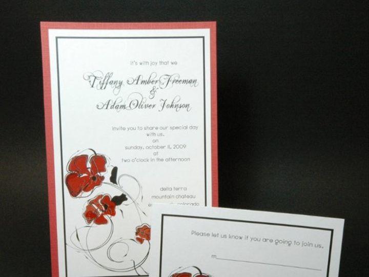 Tmx 1282931909170 FoxridgeAmoreInvitationSet Johnstown wedding invitation
