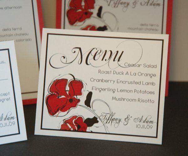 Tmx 1282931916092 FoxridgeAmoreMenu1 Johnstown wedding invitation