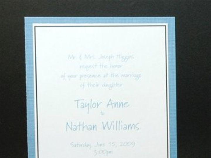 Tmx 1282931920233 FoxridgeBlueSkyInvite Johnstown wedding invitation