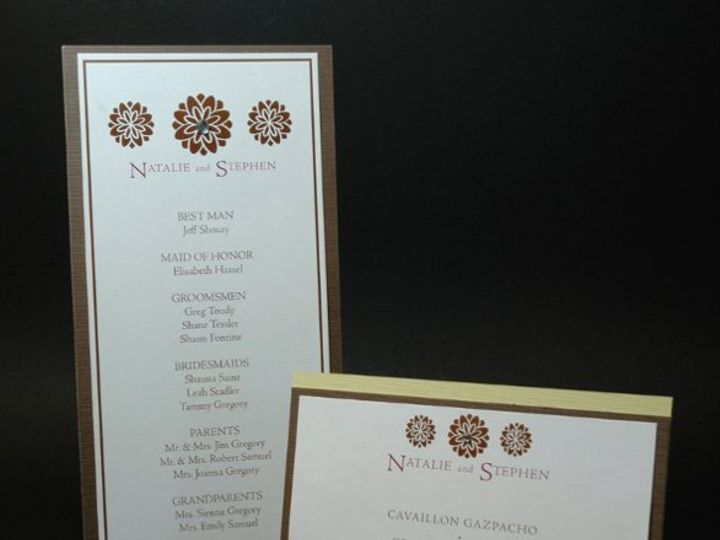 Tmx 1282931935358 FoxridgeCherishProgramMenu Johnstown wedding invitation