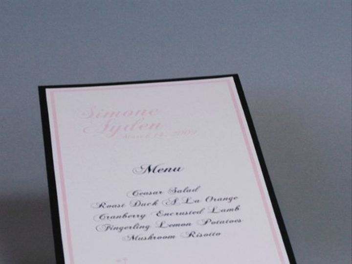 Tmx 1282931973108 FoxridgefairytaleMenu Johnstown wedding invitation