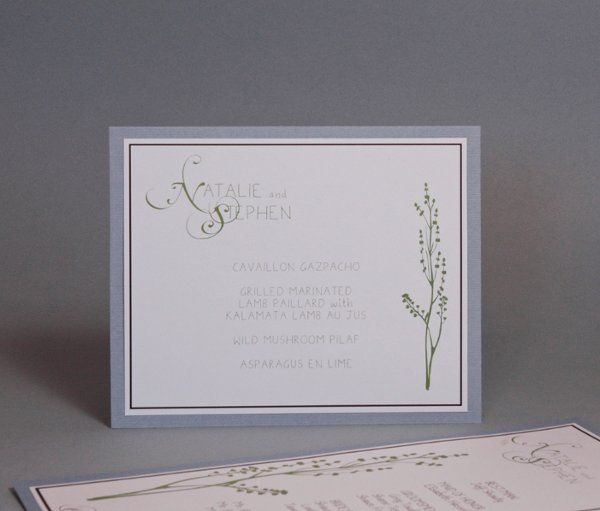 Tmx 1282931978436 FoxridgeFallingforYouMenu Johnstown wedding invitation