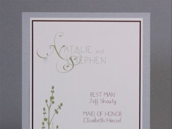 Tmx 1282931981889 FoxridgeFallingforYouProgram Johnstown wedding invitation
