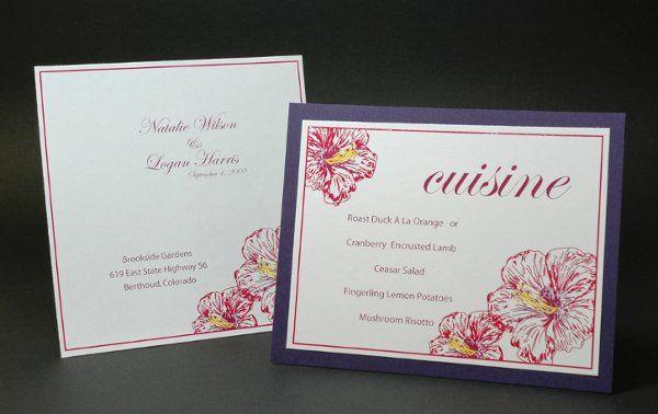 Tmx 1282932007467 FoxridgeIslandParadiseProgramMenu Johnstown wedding invitation