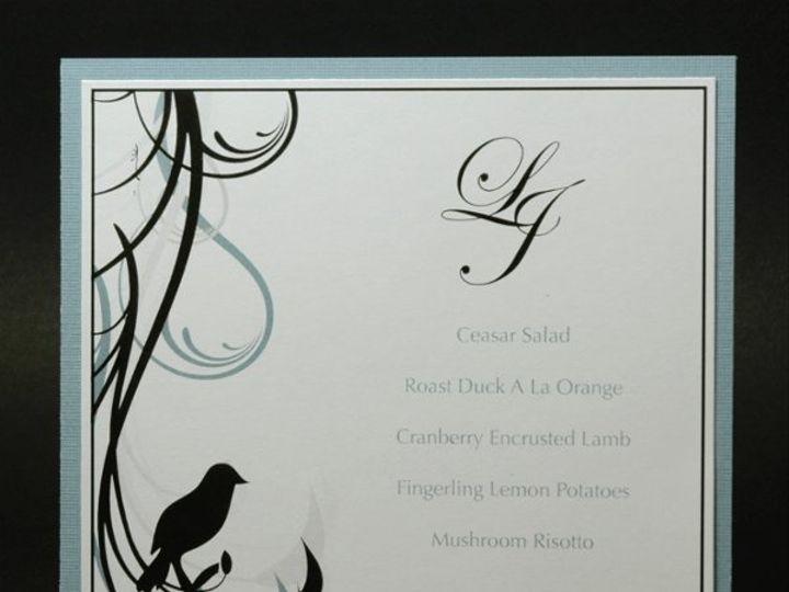 Tmx 1282932012155 FoxridgeLoveBirdsMenu Johnstown wedding invitation