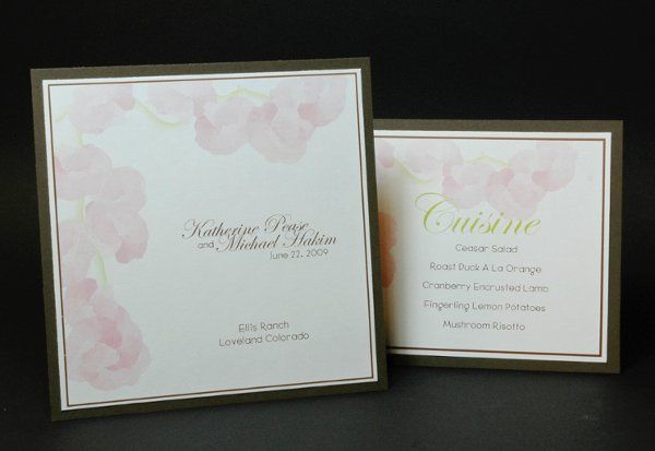 Tmx 1282932017686 FoxridgeLoveProgramMenu Johnstown wedding invitation