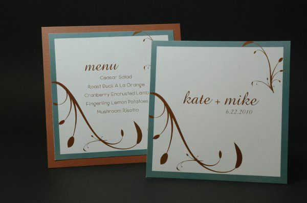 Tmx 1282932026155 FoxridgeMintMelodyProgramMenu Johnstown wedding invitation