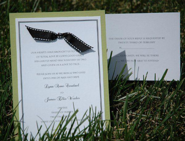 Tmx 1282932069342 FoxridgeSophisticationInvitationSet Johnstown wedding invitation