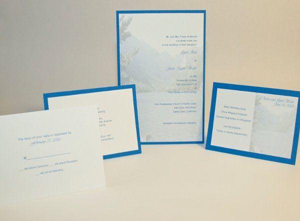 Tmx 1282932081764 FoxridgeTranquilityInvitationSet Johnstown wedding invitation
