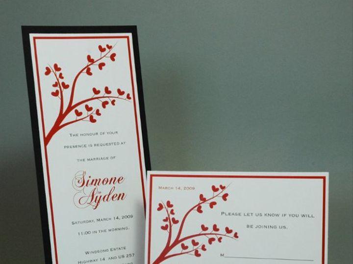 Tmx 1282932087795 FoxridgeTrueLoveInviteSet Johnstown wedding invitation