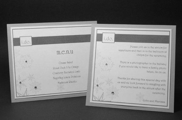Tmx 1282932096780 FoxridgeWinterWonderlandProgramSet Johnstown wedding invitation