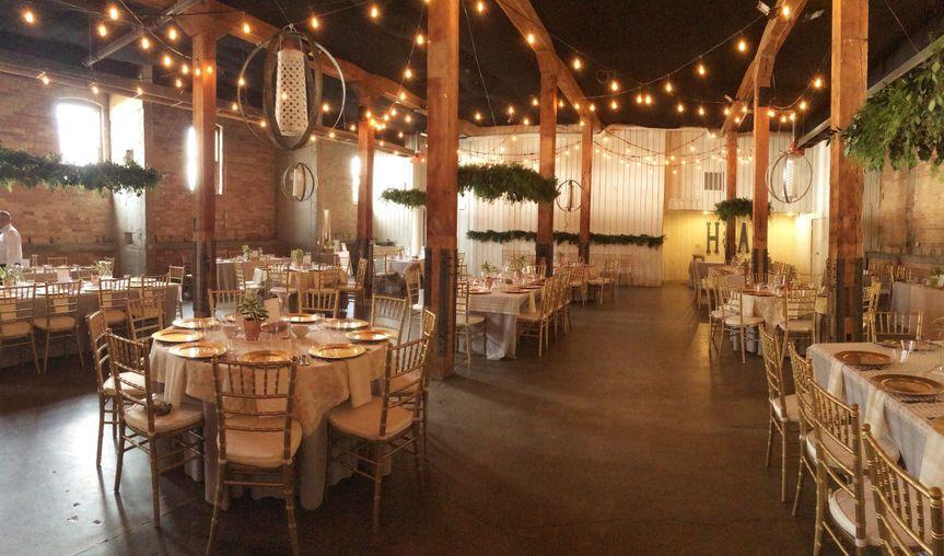 Banquet tables set-up