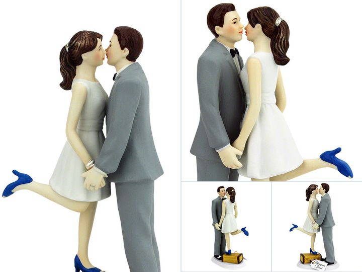 Tmx Custom Cake Topper A Kiss And Were Off Collage 51 599316 Beacon, New York wedding favor