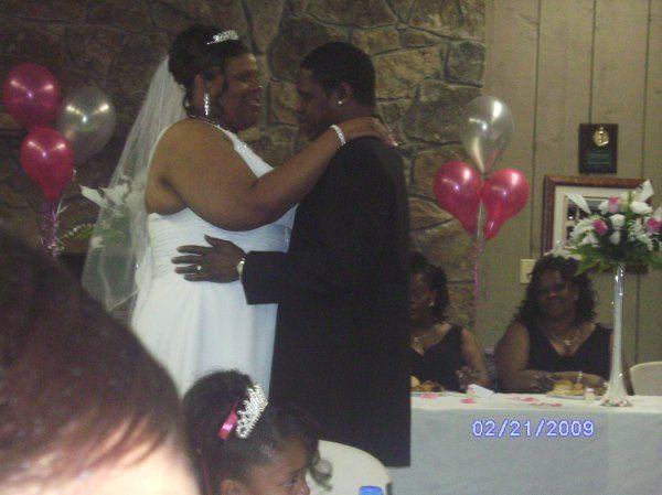 Carl and Dee's Wedding. February 2009