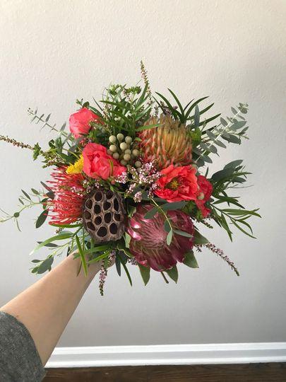 Small flower arangement