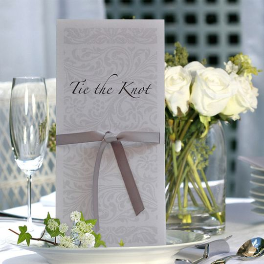 Elegance wedding stationery, beautiful and very classical in design.