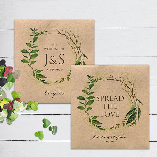 Greenery Packets