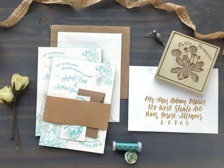 Tmx 1449731241394 Wildflowers1 Longmont wedding invitation