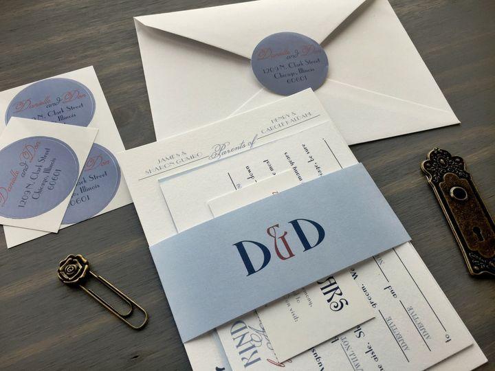 Tmx 1453766050141 Ambrosia0 Longmont wedding invitation