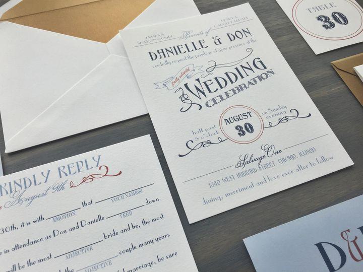 Tmx 1453766069825 Ambrosia1 Longmont wedding invitation