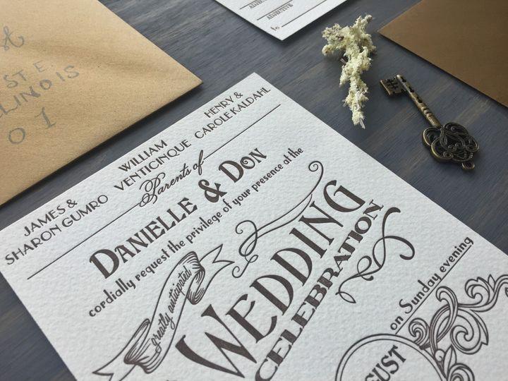 Tmx 1453766114033 Ambrosia9 Longmont wedding invitation