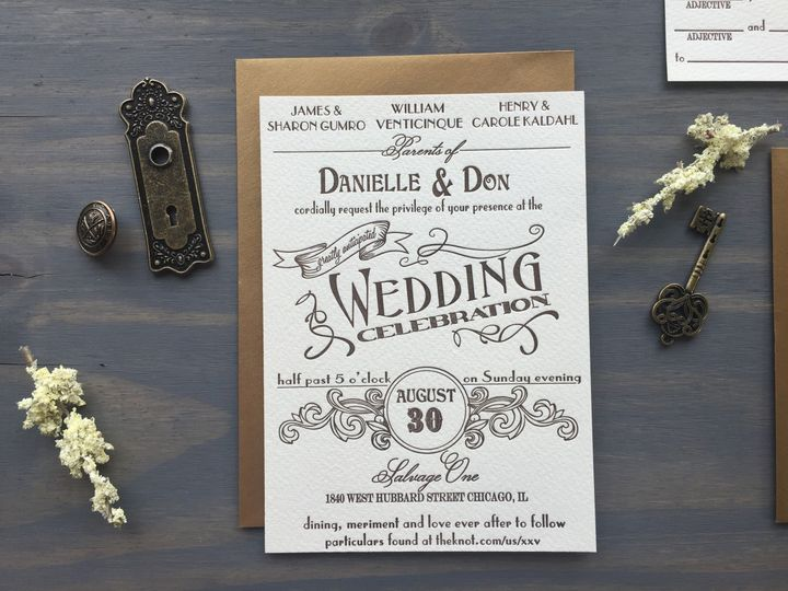 Tmx 1453766138017 Ambrosia10 Longmont wedding invitation