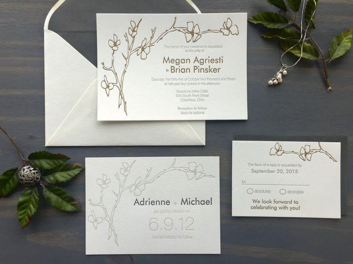Tmx 1453766239444 Cherryblossom2 Longmont wedding invitation