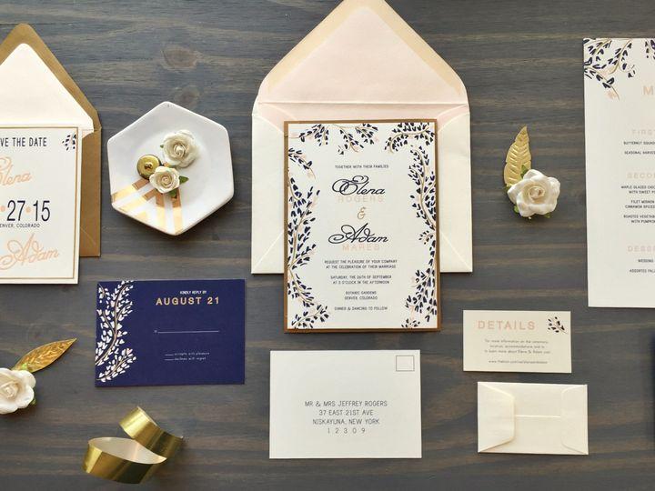 Tmx 1453766318436 Ivy8 Longmont wedding invitation