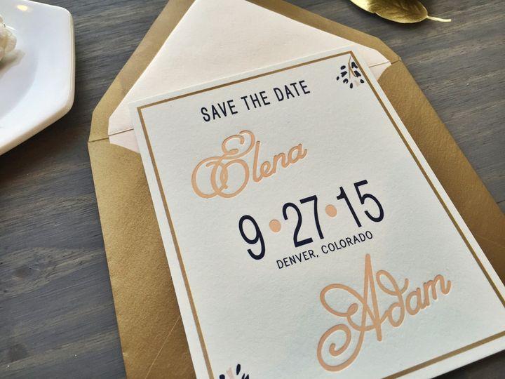 Tmx 1453766337250 Ivy6 Longmont wedding invitation