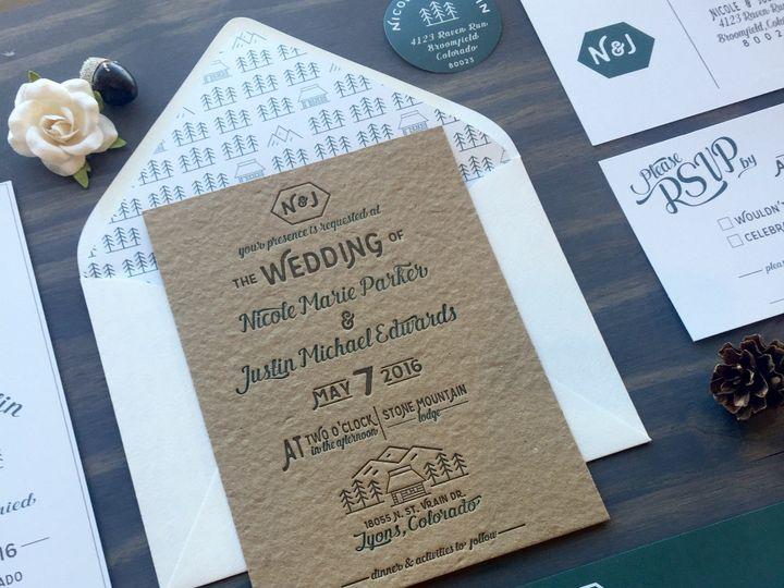 Tmx 1453766358090 Mountain Suite5 Longmont wedding invitation