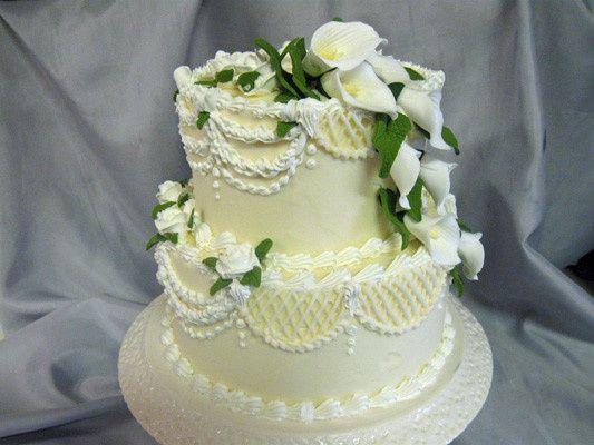 Tmx 1378340706820 Two Tier Cala Lilescake Concord, MA wedding cake