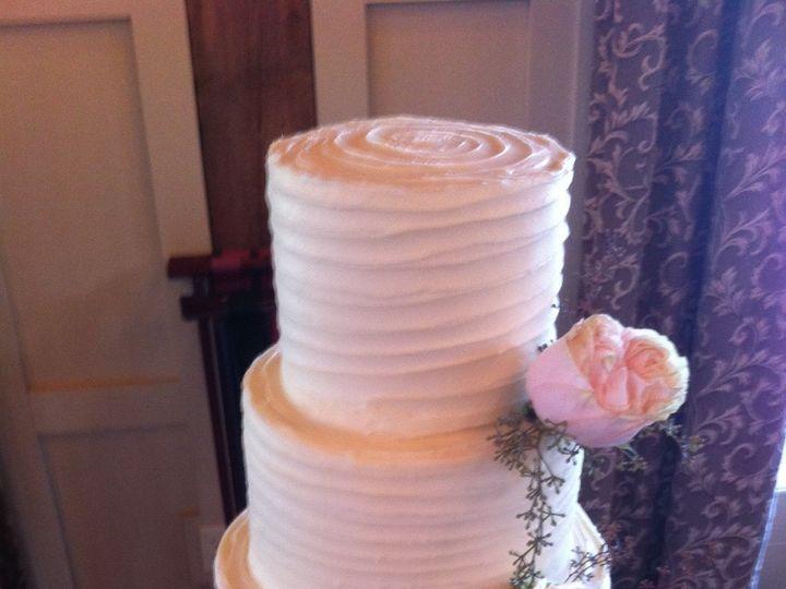 Tmx 1453216183150 Martha Stewart Four Tier With Fresh Flowers Concord, MA wedding cake