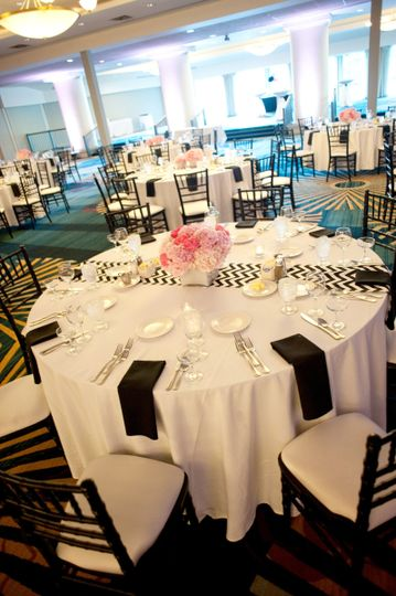 The Harbor Ballroom for your reception complete with lake views.
