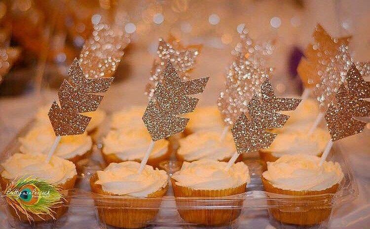 Arrow batch cupcakes