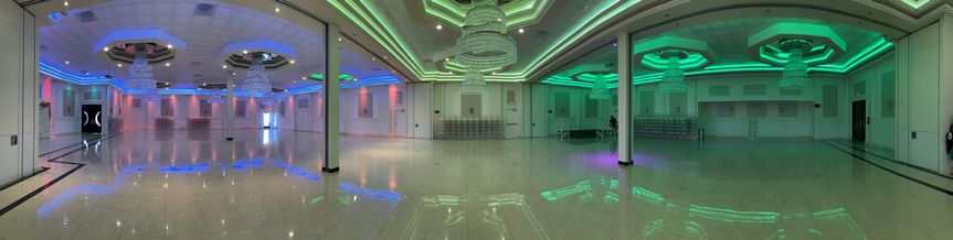 Large open event space