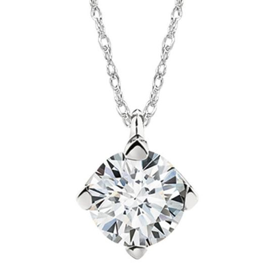 Forevermark pendant in 18kt white gold