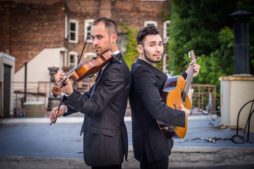 New York Virtuosi violin-guitar duo