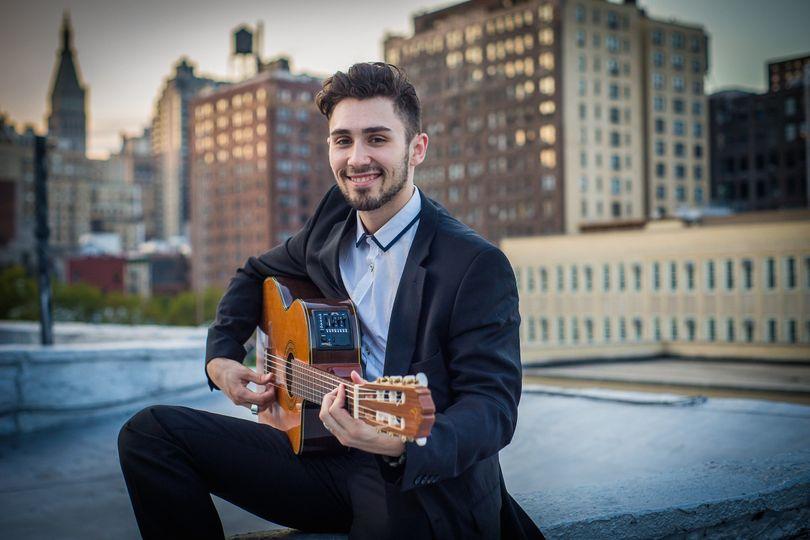 new york wedding guitarist