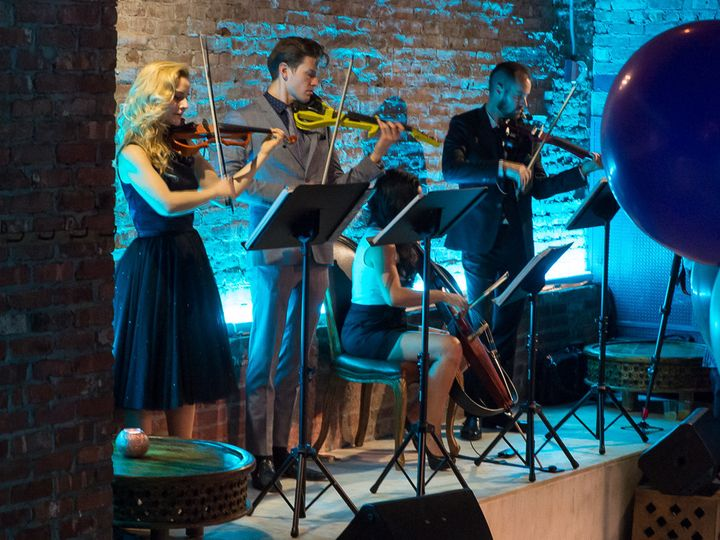 Tmx 1496122053650 New York Fashion Week String Quartet New York wedding ceremonymusic