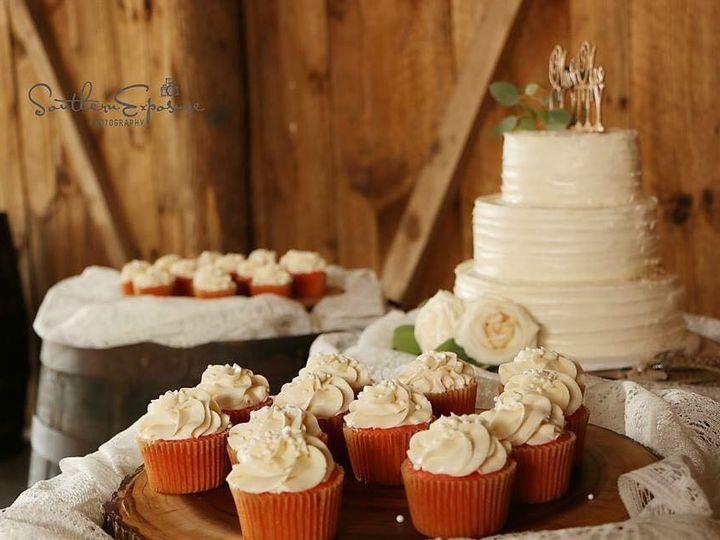 Tmx 1500319362217 Hor And Cc Battleboro wedding cake