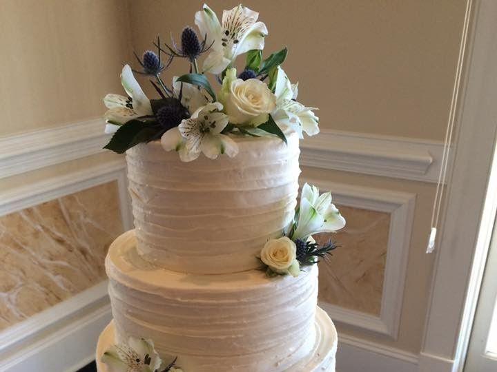 Tmx 1500319369488 Horz. Spack Battleboro wedding cake